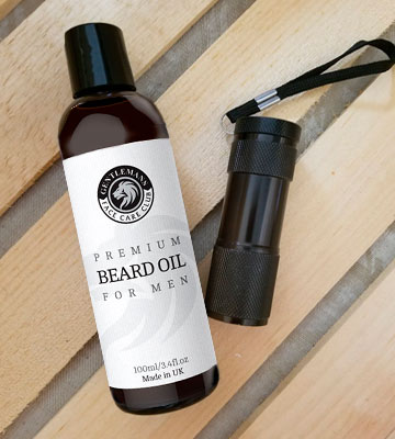 Review of Gentlemans Face Care Club Premium Beard Conditioning Oil