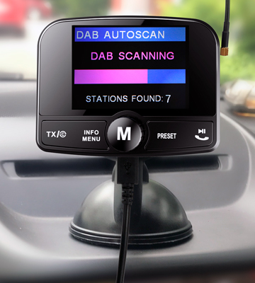 Review of FirstE DAB-008 Digital Bluetooth FM Transmitter