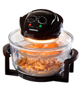 Daewoo Deluxe 17L Halogen Oven with an Extension Ring- 60min Timer