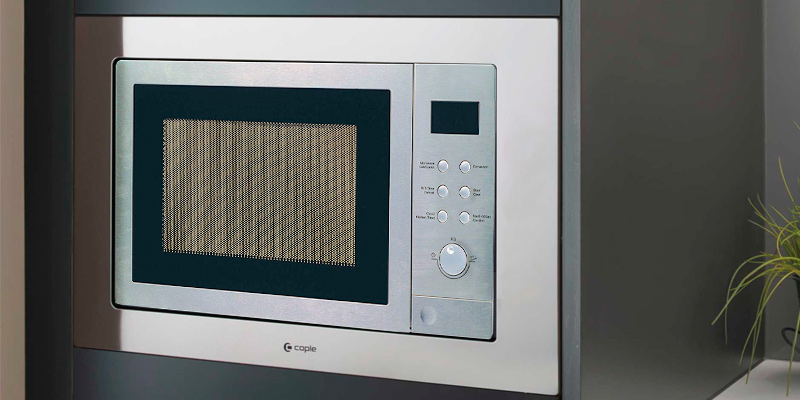 Cookology IMOG25LSS Built-in Combi Microwave Oven & Grill 25L in the use
