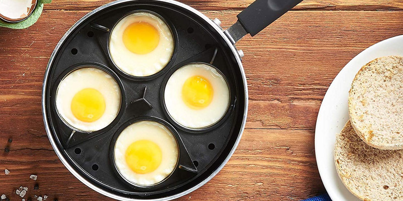 Review of VonShef Non-stick 4 Cup Egg Poacher