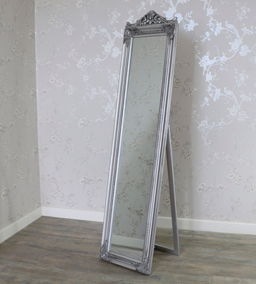 Review of Febland FM641S Silver Elizabeth Standing Mirror
