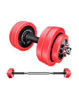 Sportstech 2in1 innovative Dumbbell set with silicone cover
