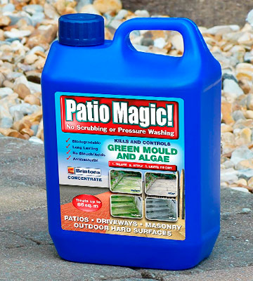 Review of Patio Magic! 16491 Mould, Algae and Moss Killer