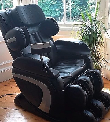 Review of HomCom 71-0031 Leather Massage Chair Automatic Zero Gravity Relax