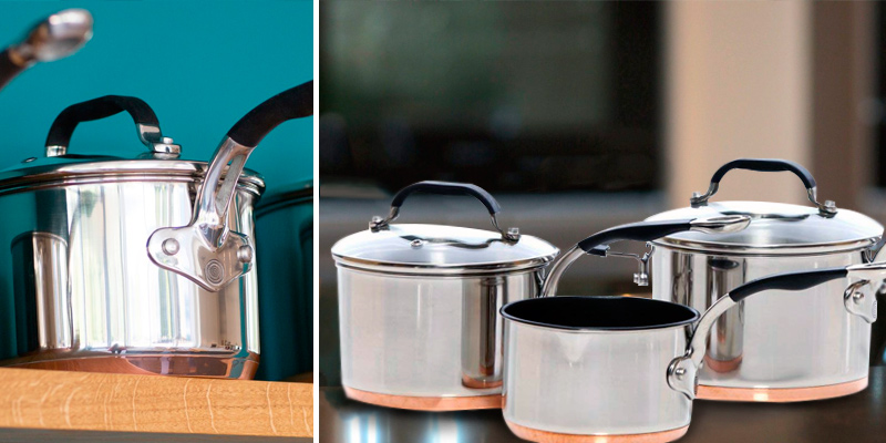 Review of ProWare Set of 3 Copper Base Cookware