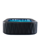 MSPA D-TE06 Tekapo 6 Person Portable Round Inflatable Hot Tub Bubble Spa Inflatable Jacuzzi