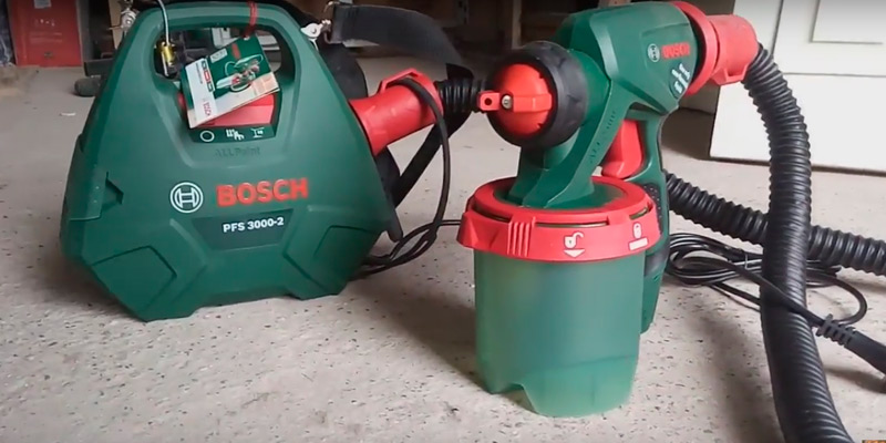Detailed review of Bosch PFS 3000-2 All-Paint All Paint Spray System