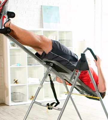 Review of Confidence CONINVTBLE Inversion Table Black/Silver