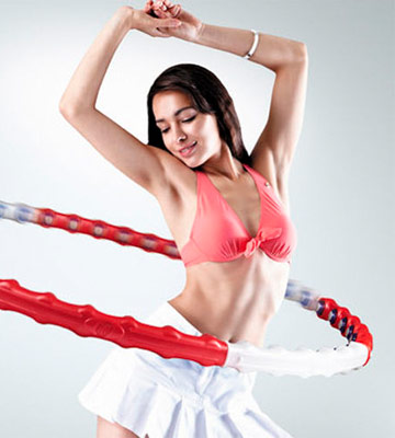 Review of ResultSport AL1 Massage Fitness Exercise Hula Hoop