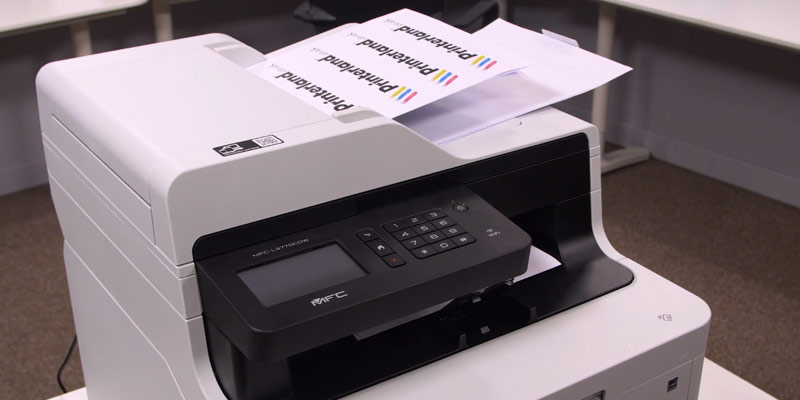 Brother MFC-L3770CDW All-in-One Colour Laser Printer in the use