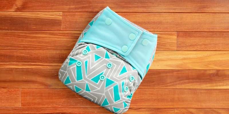 Review of AIO Charcoal / Bamboo Insert Reusable Washable Cloth Diaper Nappy