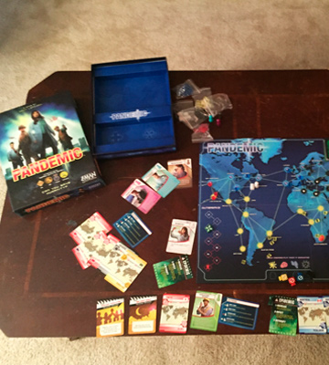 Review of Z-Man Games Pandemic Board Game
