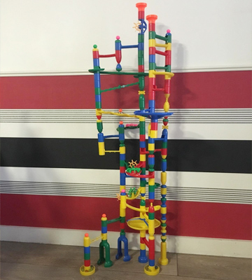Review of Toto 270 Marbulous Marble Run 200 Piece + 20 Marbles