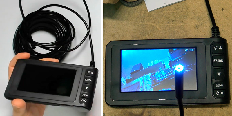 Review of SKYBASIC (SK129) Industrial Endoscope ( LCD Display, Li-Ion Battery Powered)