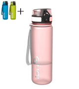 Ion8 Slim BPA Free Leak Proof Water Bottle