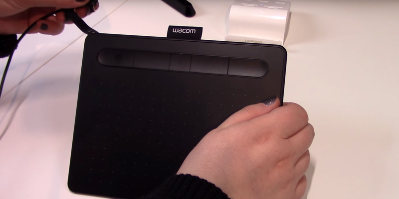 Review of Wacom CTL-4100WLK-N Intuos Pen Tablet incl Intuos Stylus & Bluetooth connectivity