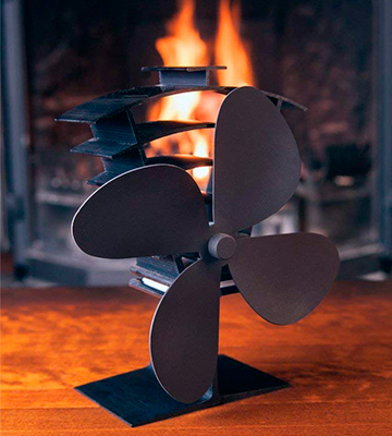 Review of Valiant Premium IV Log Burner & Stove Fan