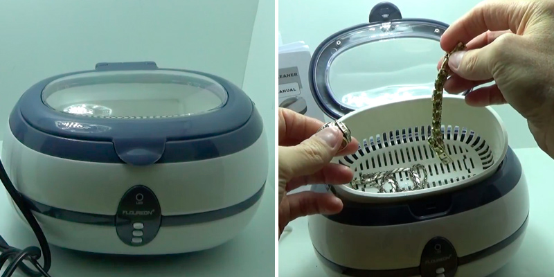 Review of Floureon 600ml Ultrasonic Cleaner