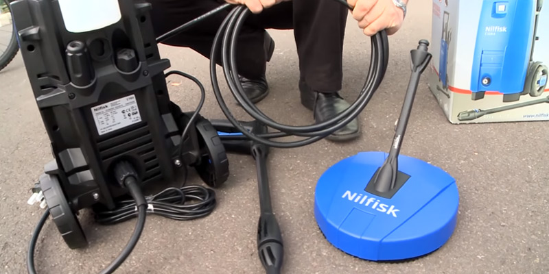 Nilfisk C110 4-5 X-Tra Pressure Washer with 1400 W Motor application