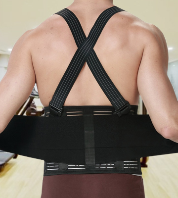 Review of NeoTech Care High-elasticity Back Brace for Men with Suspenders