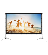 Vamvo VA-01 Outdoor/Indoor Projector Screen with Stand