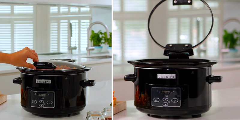 Review of Crock-Pot CSC052 4.7 Litre Digital Slow Cooker with Hinged Lid