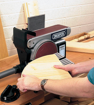Review of Draper 50021 Belt and Disc Sander