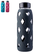 MIU COLOR Glass BPA Free Reusable Eco Water Bottle