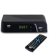 August DVB415 Box Recorder 1080p HD - HDMI and Scart Set Top Box with PVR for Recording Your Favourite Shows