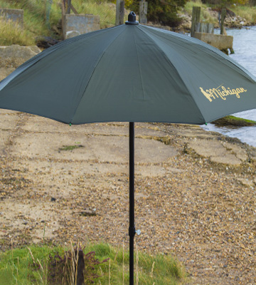 Review of Michigan Fishing Umbrella with Top Tilt Brolly Shelter