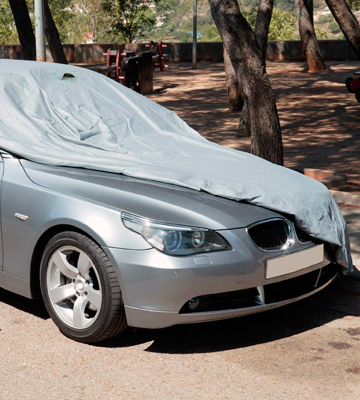 Review of Maypole 9861 Breathable Full Car Cover, Grey, Medium