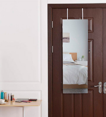 Review of Costway Full-Length Mirror Jewelry Cabinet Wall Mounted & Door Mounted