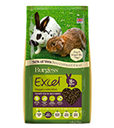Excel 10 kg Burgess Nuggets with Mint Adult Rabbit Food