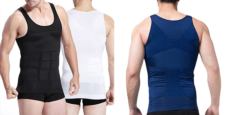 Review of The Pure Blue Men's Slimming Vest Warm Instant Weight Loss