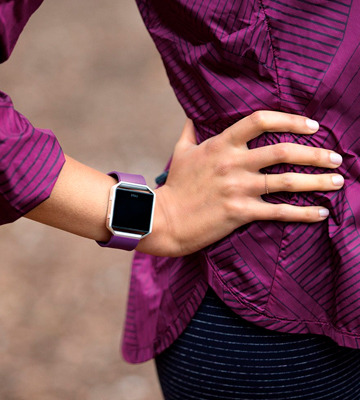 Review of Fitbit Blaze Smart Fitness Watch for Women