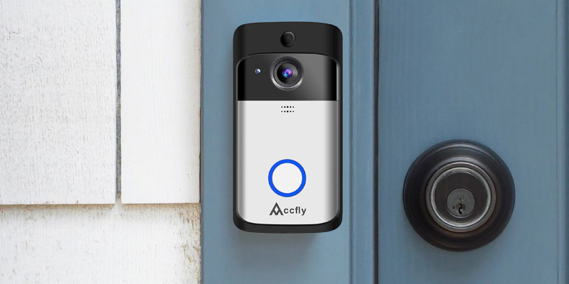 Accfly C093WX Video Doorbell (2-Way Talk, Motion Detection, Night Vision) in the use