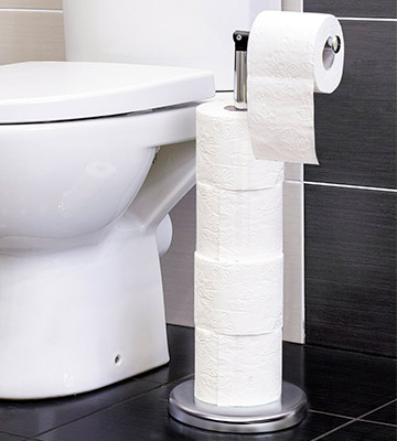 Review of Tatkraft Toilet Paper Holder Ingrid Freestanding