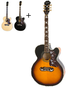 Epiphone EEJ2VSGH1 EJ-200SCE Acoustic Electric Guitar