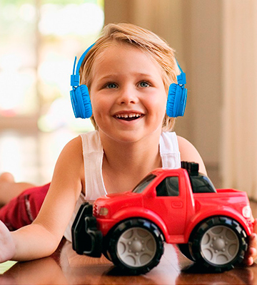 Review of Termichy HEADSET-X2 Wireless Bluetooth Kids Headphones
