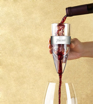 Review of Zazzol ZWA-101 Wine Aerator Decanter