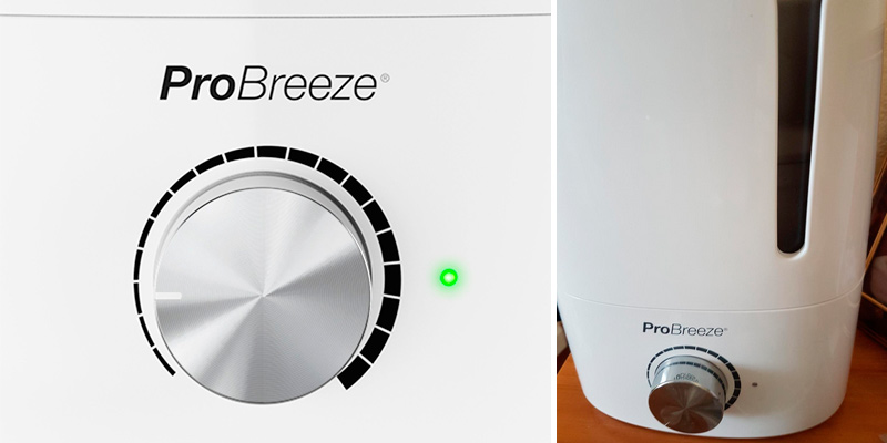 Pro Breeze Premium Humidifier 3.5L Ultrasonic Cool Mist in the use