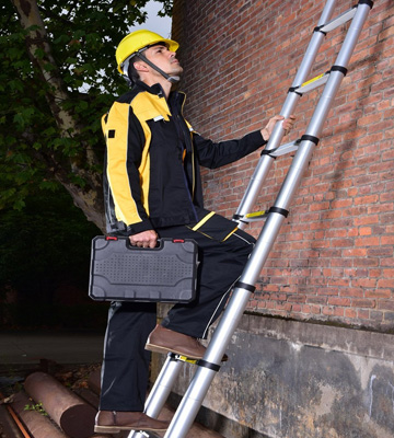 Review of Finether 5M Telescopic Ladder Aluminium