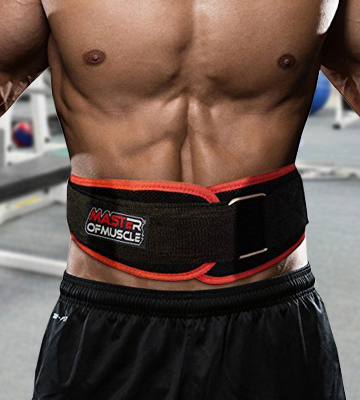 Review of Master of Muscle 712038090525 Workout Weight Lifting Belt for Men and Women