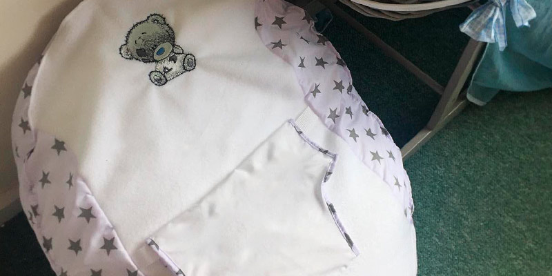 Review of Small World Baby Shop Baby Bean Bag Grey Personalised Tatty Teddy