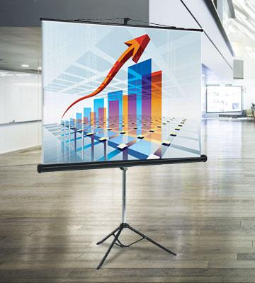 Review of Bi-Office 9D006028 Projection Screen