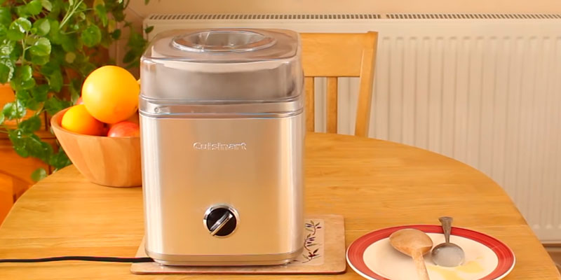 Review of Cuisinart ICE30 Ice Cream Maker, 2.0 Litre