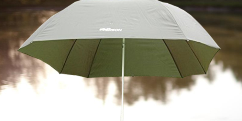 Review of Bison sx25 Top Tilt Fishing Umbrella Brolly Shelter