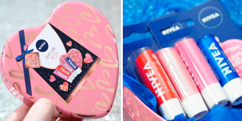 Review of Nivea Gift Set Soft Lips Balm