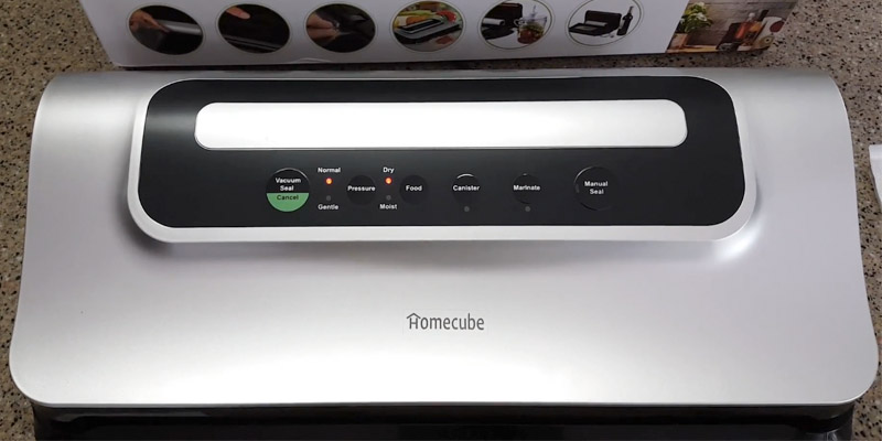 Detailed review of Homecube Vacuum Sealing System